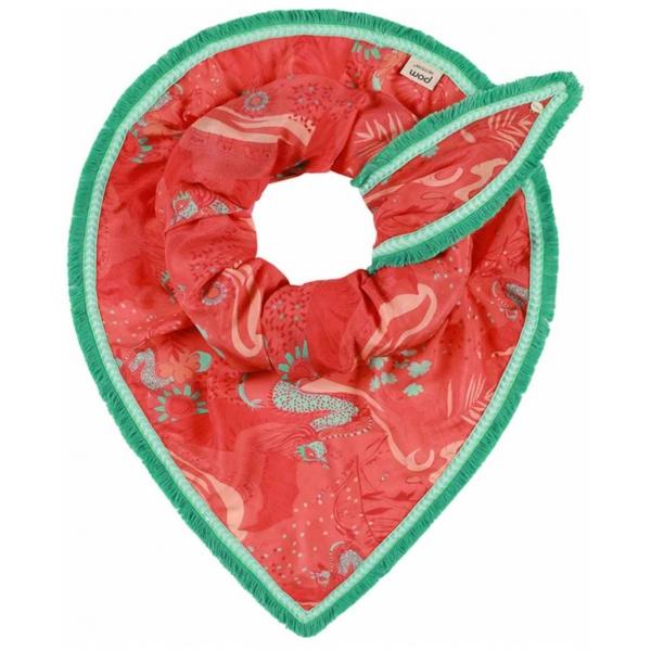 POM Amsterdam SP6152 Shawl Full of Luck Cherry by Katja