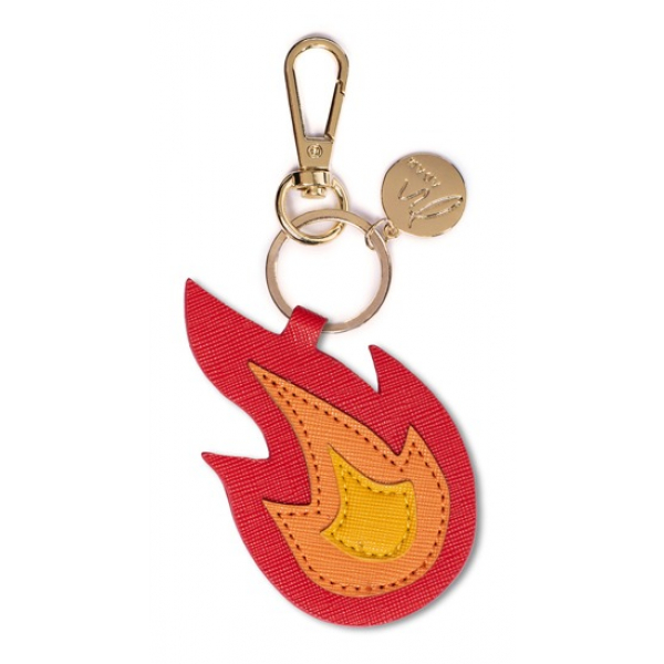 Madam the Label Bagcharm flame red