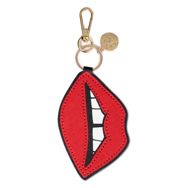 Madam the Label Bagcharm kiss red
