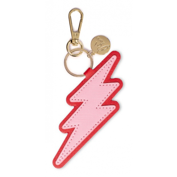 Madam the Label Bagcharm lightning pink-red