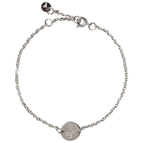 Madam the Label Chain coin bracelet snake steel