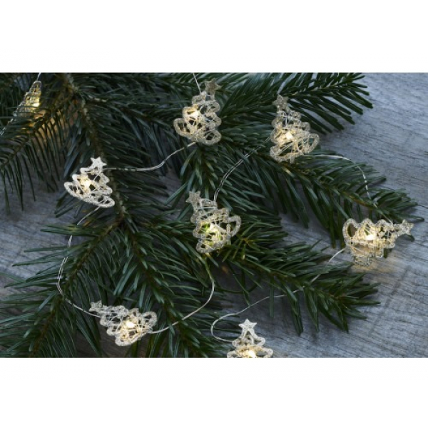 Sirius 29331 Edith Tree met 10 LED's Silver 1,30m+30cm