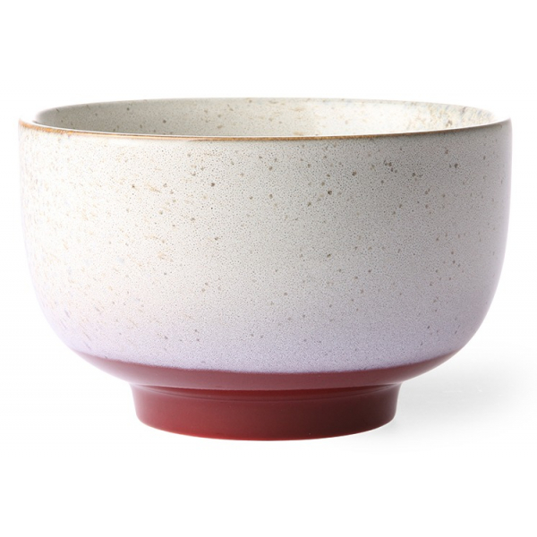 HK Living Ceramic 70's Bowl Frost ACE6875