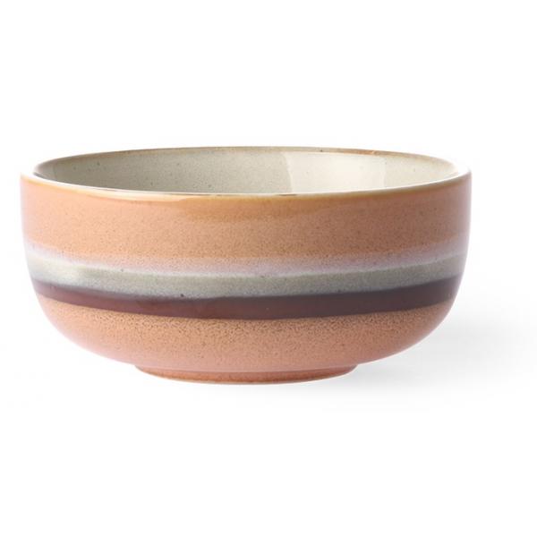 HK Living Ceramic 70's Bowl Medium Tornado ACE6878