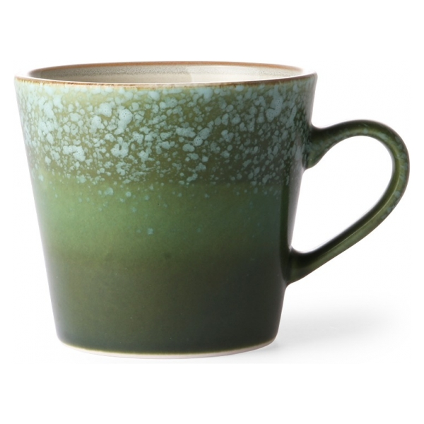 HK Living Ceramic 70;s Cappuccino Mug Grass ACE6054