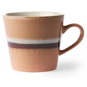 HK Living Ceramic 70's Cappuccino Mug Stream ACE6865