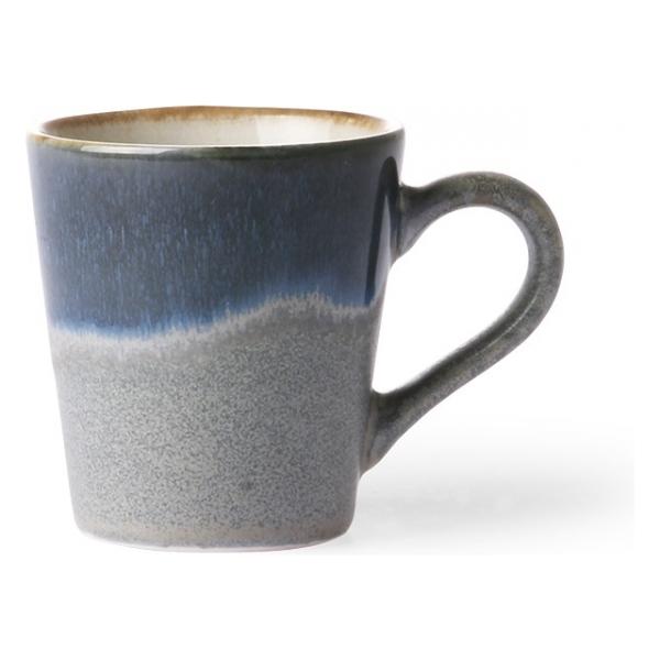 HK Living Ceramic 70's Espresso Mug Ocean ACE6048