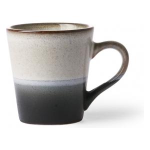 HK Living Ceramic 70's Espresso Mug Rock ACE6050