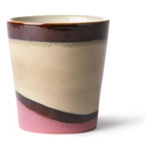 HK Living Ceramic 70's Mug Dunes ACE6862