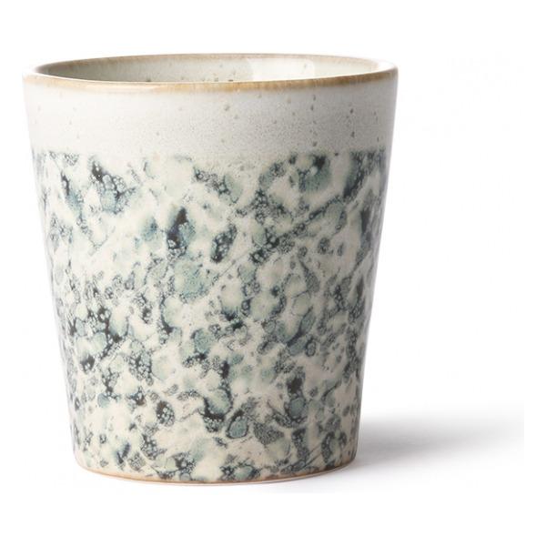 HK Living Ceramic 70's Mug Hail ACE6863