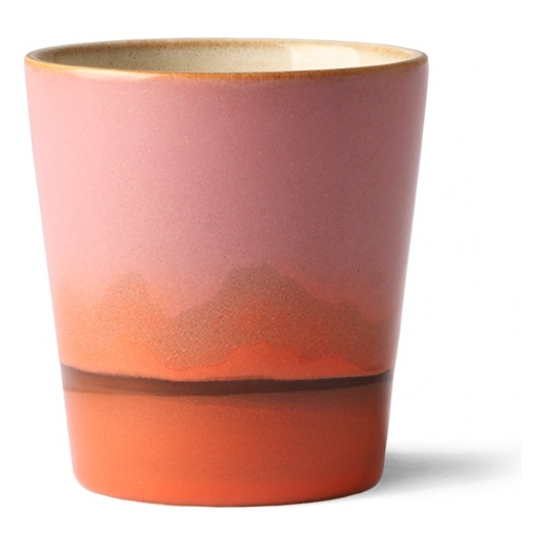 HK Living Ceramic 70's Mug Mars ACE6905