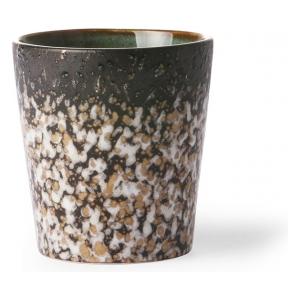 HK Living Ceramic 70's Mug Mud ACE6040