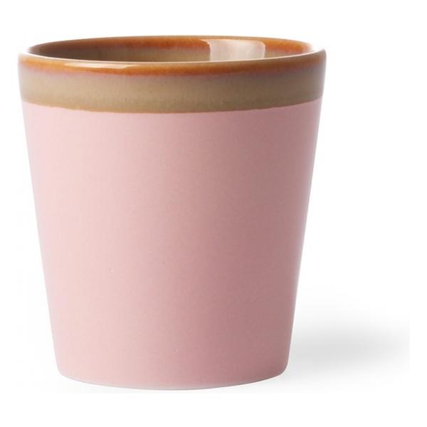 HK Living Ceramic 70's Mug Pink ACE6767
