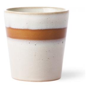 HK Living Ceramic 70's Mug Snow ACE6047