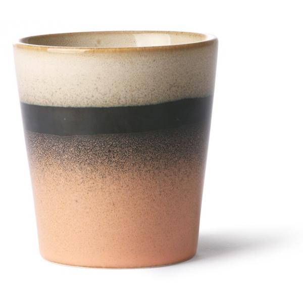 HK Living Ceramic 70's Mug Tornado ACE6861