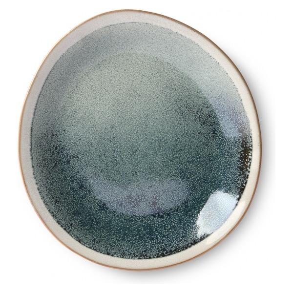 HK Living Ceramic 70's Side Plate Mist ACE6871