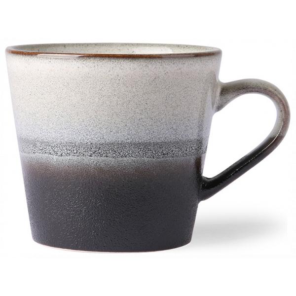 HK living Ceramic 70's Cappuccino Mug Rock ACE6052