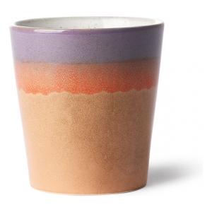 HK living Ceramic 70's Mug Sunset ACE6860