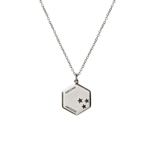 Madam the Label Long necklace awesome steel