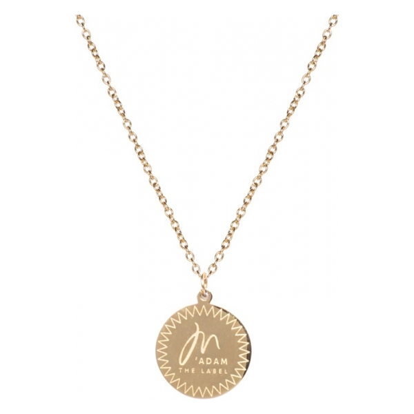 Madam the Label necklace gold voorkant short