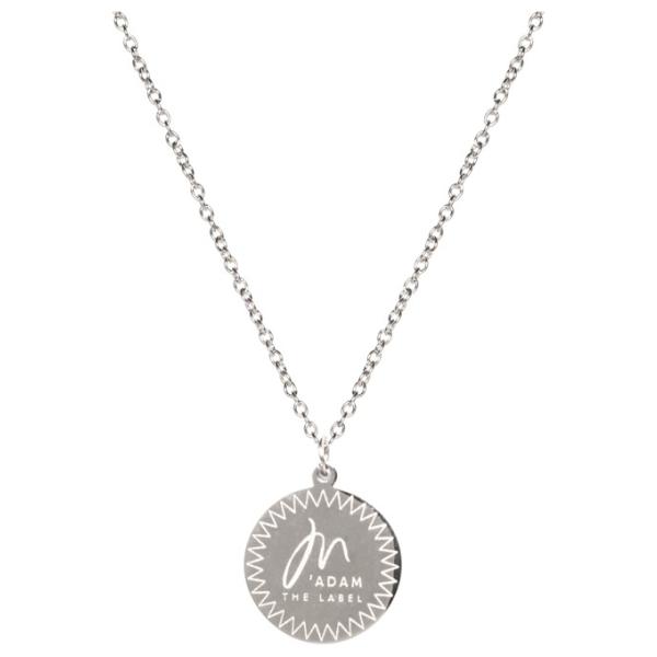 Madam the Label necklace steel voorkant