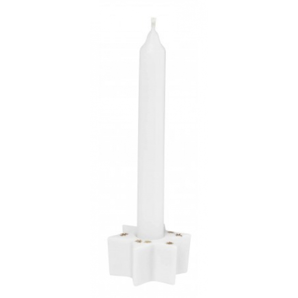 Räder 89691 Mini candle holder star 4x4x2cm