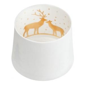 Räder 90079 Shadow play deers D7,5cm Height:6,5cm ,gold