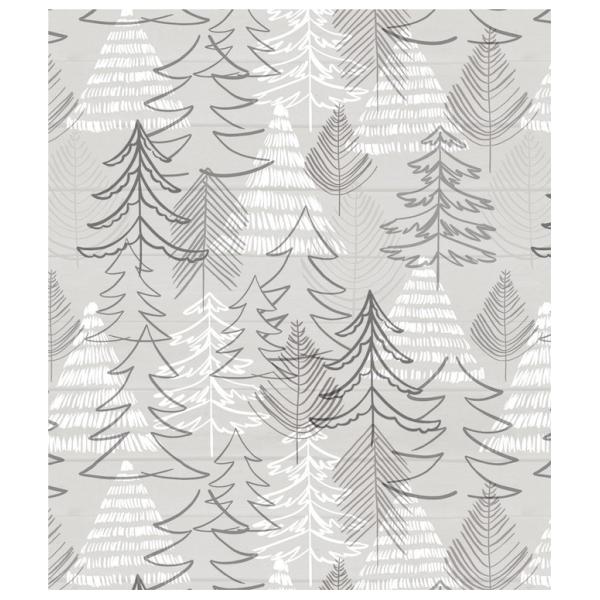 Tafelzeil Xmas Trees