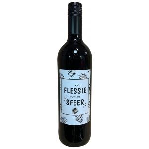 The Big Gifts Wijnfles rood Flessie voor de sfeer