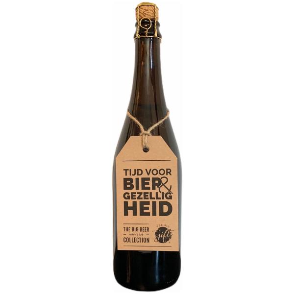The Big Gifts XL Bierfles bier en gezelligheid
