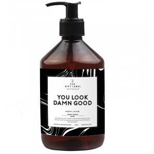 The gift label body wash men you look damn good