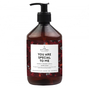 The gift label hand soap you are special to me