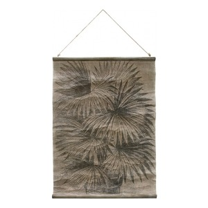 HK Living Vintage wall chart Palm leaves awd8855