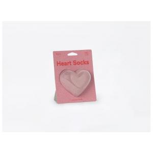 Doiy Heart Socks Pink