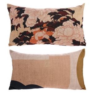 HK Living Printed Cushion Tokyo 35x60