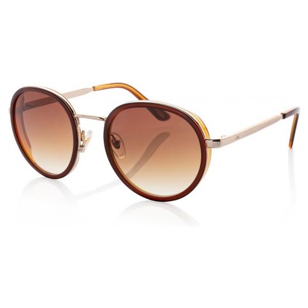 IKKI zonnebril Belle 31-18 Brown-light brown/gradient brown