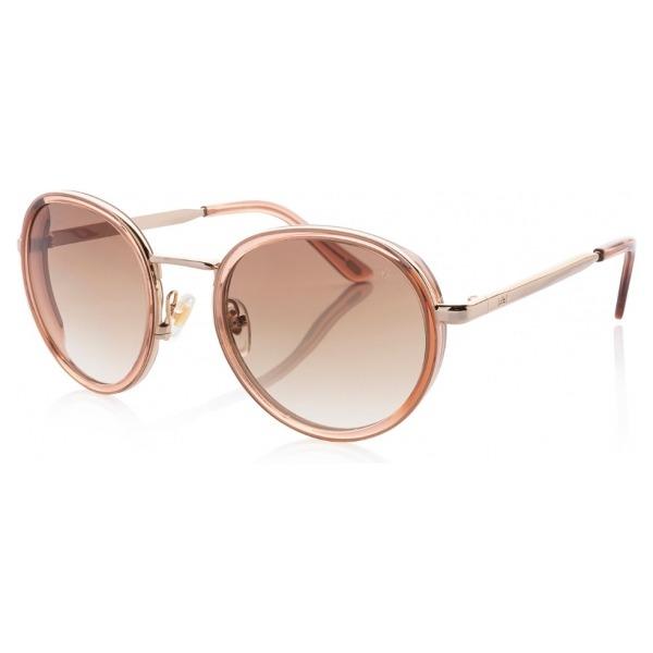 IKKI zonnebril Belle 31-7 Crystal nude/gradient brown