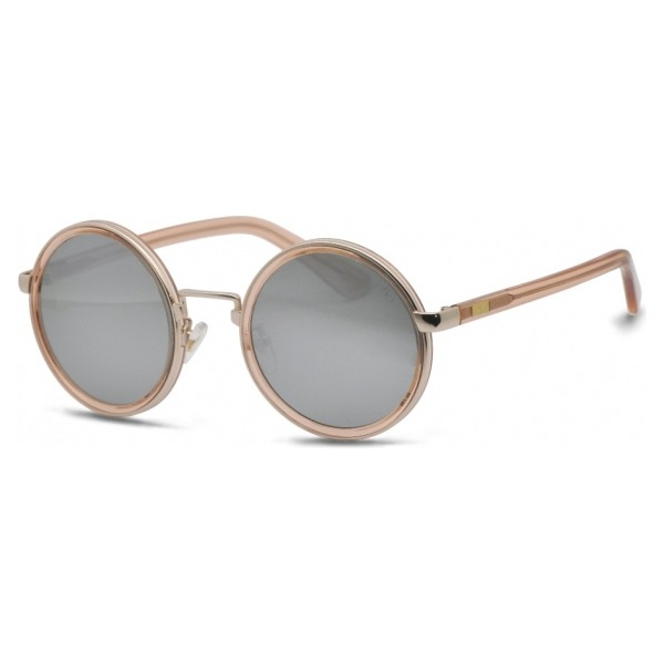 IKKI zonnebril Jinx 33-4 Crystal nude/flash silver