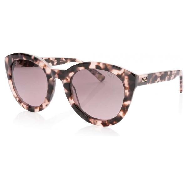 IKKI zonnebril Nola 49-6 Pink tortoise/gradient smoke pink