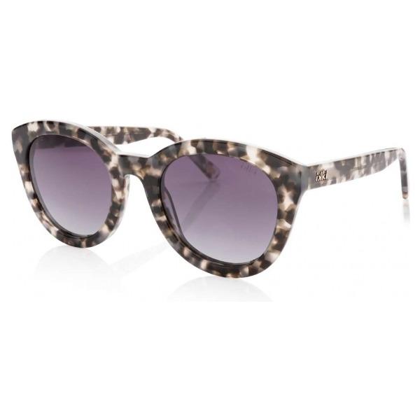 IKKI zonnebril Nola 49-7 Black tortoise/gradient smoke