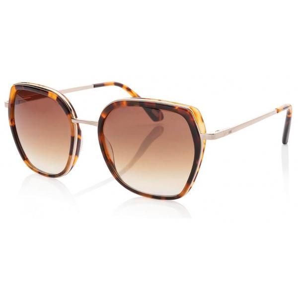 IKKI zonnebril Donna 73-4 Grey tortoise/gradient light brown