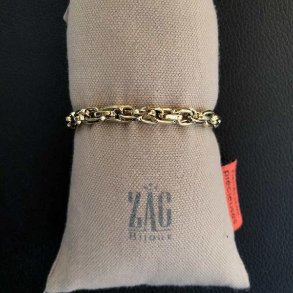 ZAG Bijoux Open Schakel Armband | Goud