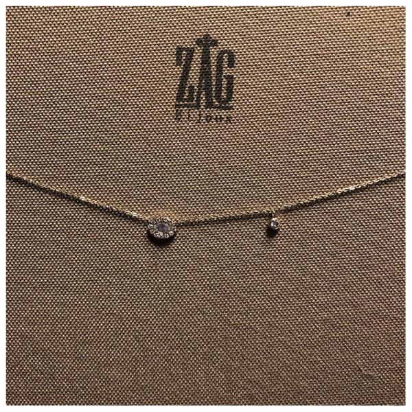 ZAG Bijoux Ketting Met Glimmend Oog Goud