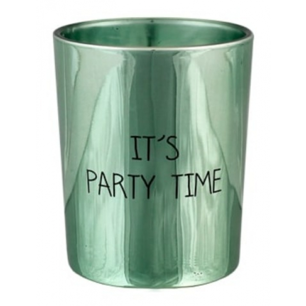 My Flame SOJAKAARS - IT'S PARTY TIME - GEUR: MINTY BAMBOO