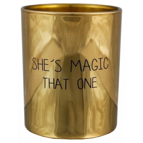 My Flame SOJAKAARS - SHE'S MAGIC, THAT ONE - GEUR: SILKY TONKA