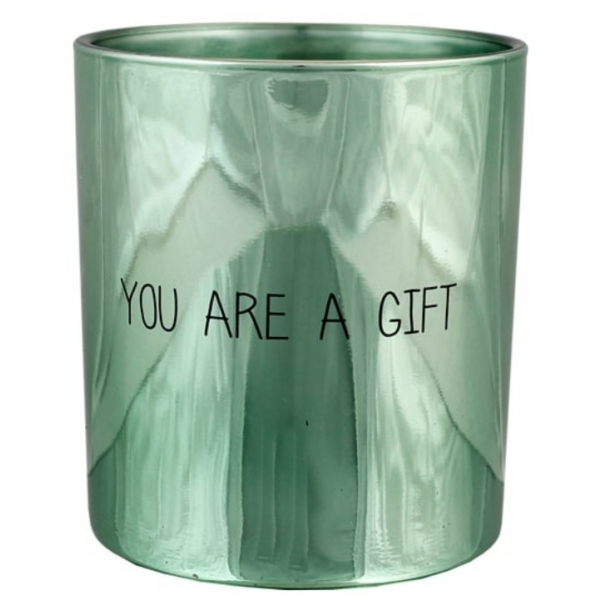 My Flame SOJAKAARS - YOU ARE A GIFT - GEUR: MINTY BAMBOO