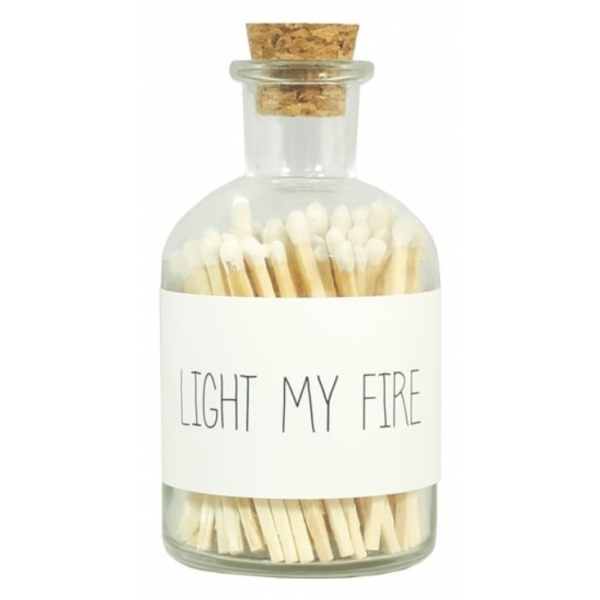My Flame lucifers wit light my fire