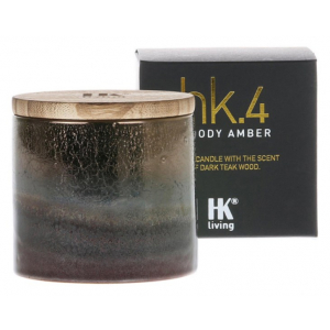 HK Living hk.4 ceramic soy candle woody amber