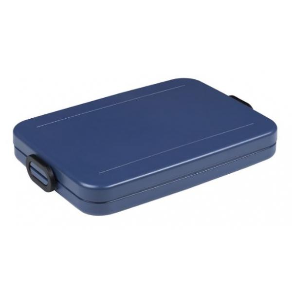 Mepal Lunchbox Take a Break flat - Nordic denim