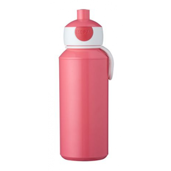 Mepal Drinkfles pop-up Campus 400 ml - pink
